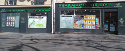 Pharmacie Du 20ème, Paris