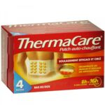THERMACARE, pack 4 à Paris