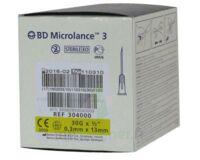 BD MICROLANCE 3, G30 1/2, 0,30 mm x 13 mm, jaune  à Paris