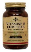SOLGAR VITAMINE B COMPLEXE avec vitamine C /100 à Paris
