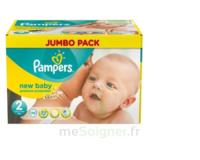PAMPERS NEW BABY T2 jumbo pack 70 couches avec indicatuer d'urine - 3 à 6 Kg - nouveau-né à Paris